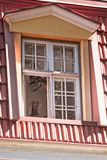 psi patrzejący patrzeć okno Zdjęcia Stock