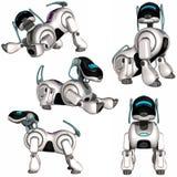 psi robot Zdjęcia Royalty Free