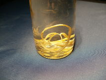 Psi roundworm w zachowawczych agens Fotografia Stock