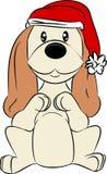 Psi Santa royalty ilustracja