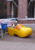 Psi stojak na bucie fotografia royalty free