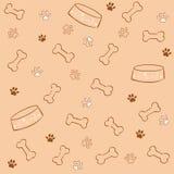psi wzór Fotografia Royalty Free