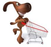 psi zakupy royalty ilustracja