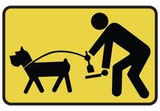 psi znak Zdjęcia Royalty Free