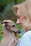 psia charcia mienia włocha kobieta Obrazy Royalty Free