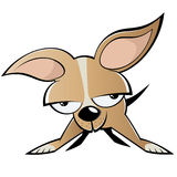 Psia chihuahua kreskówka   ilustracji