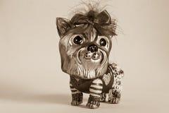 Psia dekoracja Fotografia Royalty Free