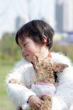 psia dziewczyna Obraz Royalty Free