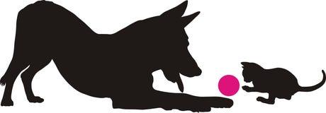 psia figlarka Royalty Ilustracja
