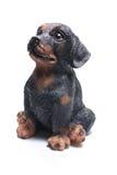 psia figurka Zdjęcia Royalty Free