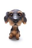psia figurka Zdjęcie Royalty Free