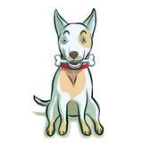 Psia ilustracyjna kreskówka Zdjęcia Stock