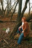 psia kobieta zdjęcie stock