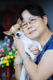 psia kobieta Fotografia Stock