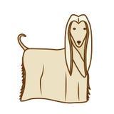 Psia kreskówki ikona Fotografia Royalty Free