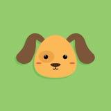 Psia kreskówki twarz ilustracji