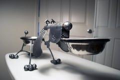 Psia puchar rzeźba Obraz Royalty Free