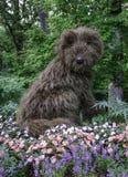 Psia rzeźba Zdjęcie Stock