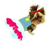 psia suknia ilustracja wektor