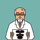 psicólogo stock de ilustración