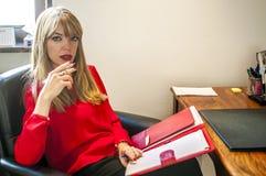 psicólogo Imagen de archivo libre de regalías