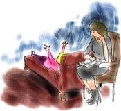 Psicanalisi royalty illustrazione gratis