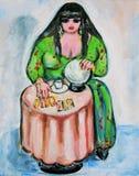 Psichico royalty illustrazione gratis