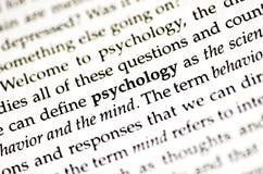 Psicología imagenes de archivo