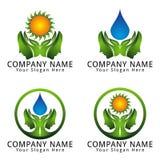 Psicología Logo Natural Concept Fotografía de archivo libre de regalías