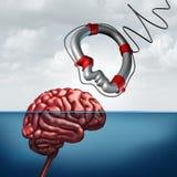 Psicologia che dà aiuto concetto royalty illustrazione gratis