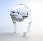 Psicologia humana do andr da inteligência Imagens de Stock Royalty Free