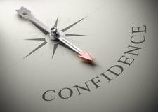 Psicologia, treinamento da autoconfiança Imagens de Stock Royalty Free