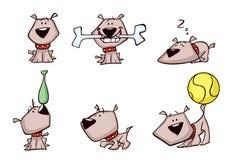 Psie ilustracje ilustracji