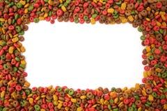 Psiego jedzenia rama Obrazy Royalty Free