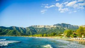 Psili Ammos beach, Thassos island, Greece Royalty Free Stock Photo