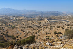 Psiloritis mountain at Crete island Royalty Free Stock Photos