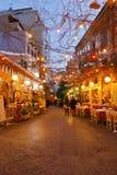Psirri, Athens. royalty free stock photography