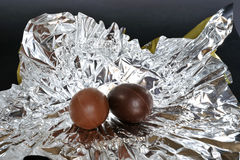 påsk- ägg Fotografering för Bildbyråer
