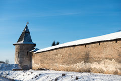Pskov-Caves Monastery Stock Images