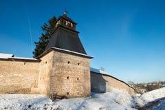 Pskov-Caves Monastery Stock Photos