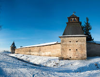 Pskov-Caves Monastery Royalty Free Stock Photography