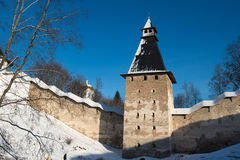 Pskov-Caves Monastery Royalty Free Stock Images
