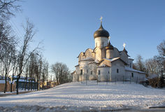 Pskov Church Royalty Free Stock Photo