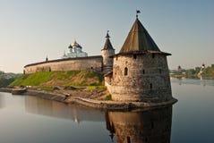 Pskov der Kreml Lizenzfreie Stockfotos