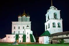 Pskov fästning Arkivbild