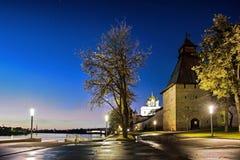 Pskov fästning arkivfoton