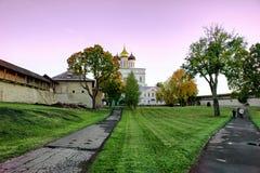 Pskov forteca Obraz Royalty Free