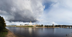 Pskov fortress Stock Images