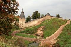 Pskov fortress Royalty Free Stock Photo