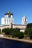 Pskov. Het Kremlin Stock Fotografie